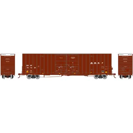 Athearn 75132 HO Scale - RTR 60Ft Gunderson DD HC Box, BNSF/Wedge #761301