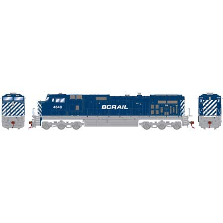 Athearn Roundhouse 78042 HO BC Rail Dash 9-44CW DCC Ready BCOL No4648