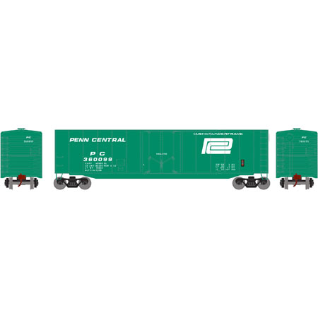 Athearn Roundhouse 79109 HO 50ft Plug Door Smooth Side Box, PC No360124