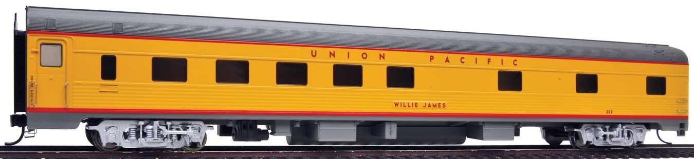 WalthersProto 13103 HO - 85Ft Budd 10-6 Sleeper UP Heritage Fleet - Ready to Run - Standard - Union Pacific, Willie James #202