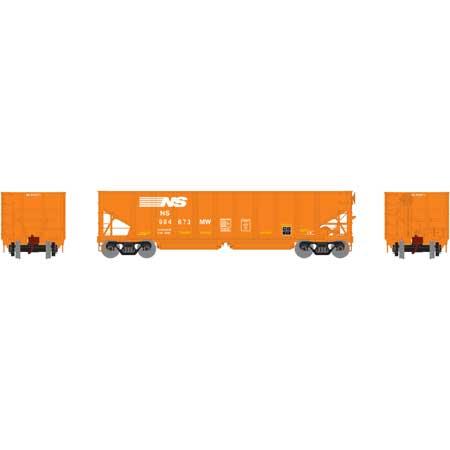 Athearn 14254 HO RTR 40ft OB Ballast Hopper/Load Norfolk Southern No.994673MW