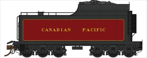 Rapido Trains 600092 HO Scale Canadian Pacific Royal Hudson 12,000 Gallon Tenders - Coal Tender w/Commonwealth Trucks