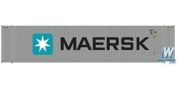 Atlas HO 20004690 Maersk 45 ft Corrugated Container 3pk