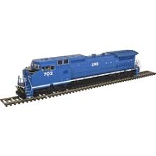Atlas 10 002 274 HO Dash 8-40CW Locomotive Silver DCC Ready LMS No.713