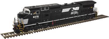 Atlas 10 002 277 HO Dash 8-40CW Locomotive Silver DCC Ready Norfolk Southern(Horsehead) No 8408