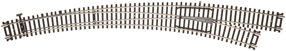 Atlas Model Railroad Code 83 Curved turnout (Right)