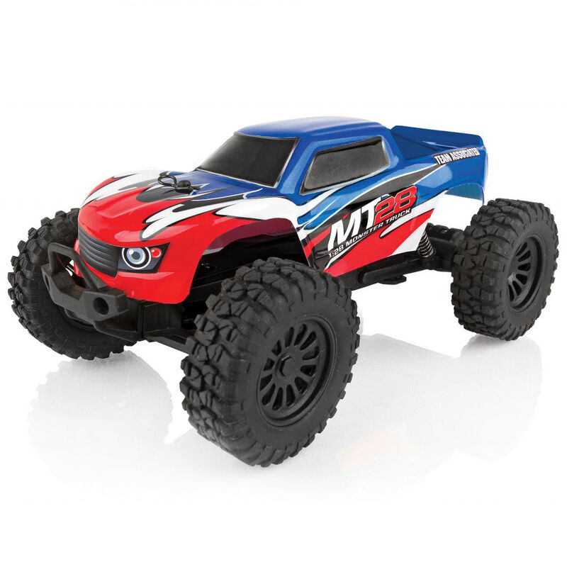Team Associated 20155 - 1/28 2WD MT28 Monster Truck Brushed RTR