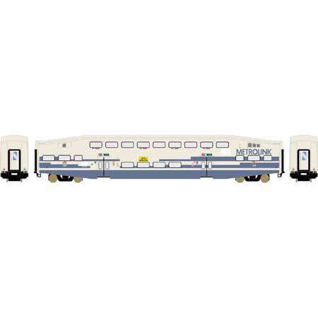 Athearn RTR 25963 HO Scale - Bombardier Cab - Metrolink SCAX #157