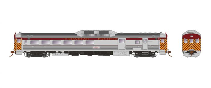 Rapido Trains 16738 - HO Budd RDC-3 - PH1b - DCC/Sound - Canadian Pacific #9022