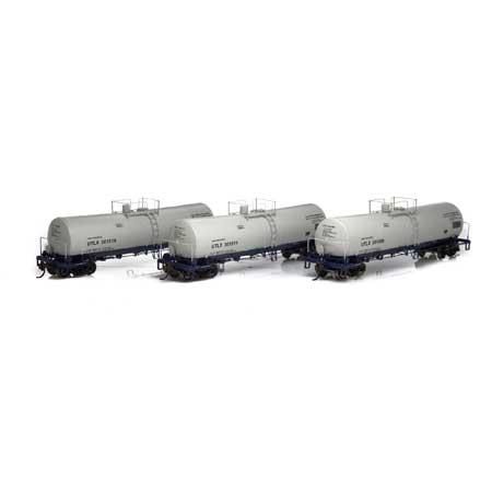 Athearn 16685 RTR HO - 16K Gallon Tank Car - UTLX #1 (3pk)