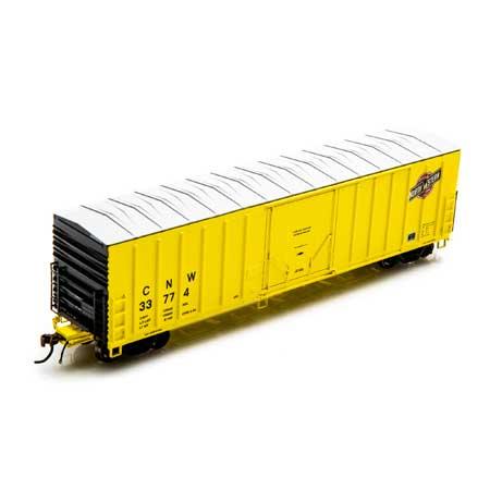 Athearn 18416 HO Scale - RTR 50 Ft NACC Box- C&NW #33801