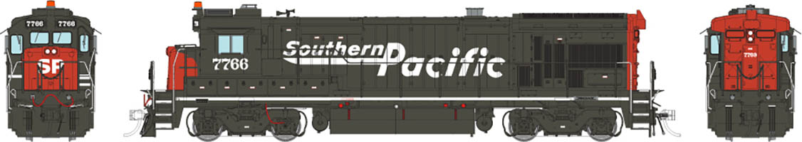 Rapido 18567 - HO B36-7 - DCC & Sound - Southern Pacific (Speed Lettering) #7758