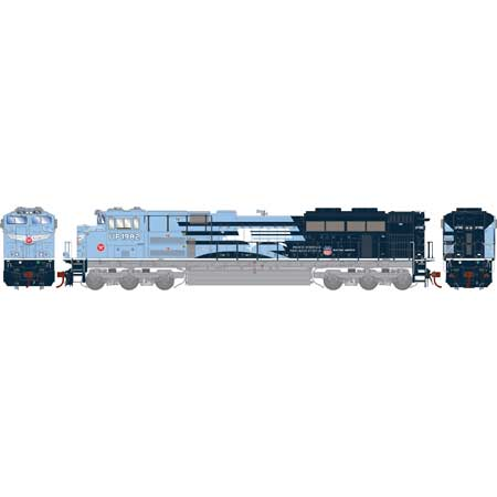 Athearn Genesis2 G01982 - HO SD70ACe - DCC & Sound - UP/MP/Heritage Repainted #1982