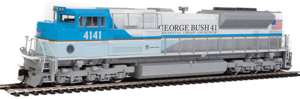 WalthersMainline 19854 HO EMD SD70ACe-ESU DCC and Sound Union Pacific George H. W. Bush #4141