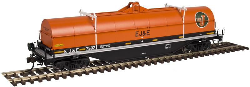 Atlas 20 003 965 HO Master Line 42 Ft Coil Steel Car w/Fishbelly Side Sill - Ready to Run - Elgin Joliet & Eastern 7582