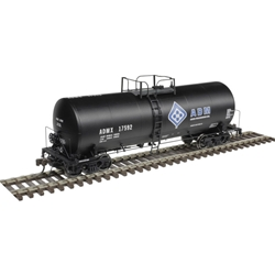 Atlas 20004988 - HO Scale 17,600 Gallon Tank Car - ADM (Molecule) #17592