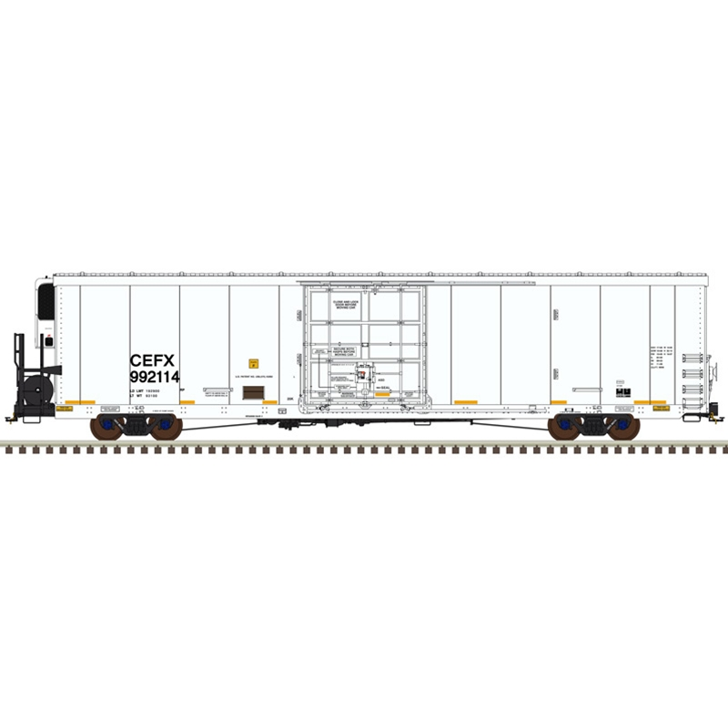 Atlas Model Railroad 20005343 HO MasterLine 64ft Trinity Reefer CIT Group Capital Finance No.992116