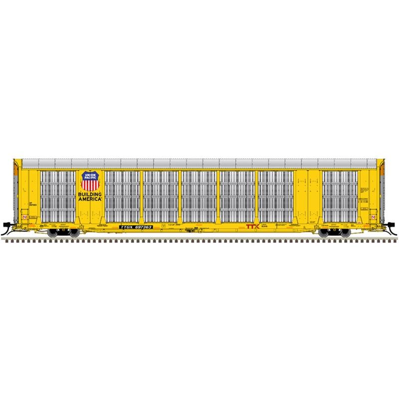 Atlas 20006197- HO Gunderson Multi-Max Auto Rack Union Pacific  (Building America) No. 697445