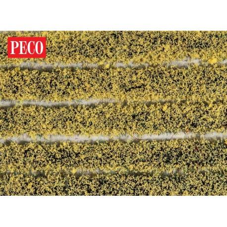Peco PSG-21 - High Self Adhesive Daffodil Tuft Strips - 4mm (10 strips)