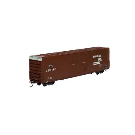 Athearn 90522 HO - RTR FMC 60Ft DD/SS Hi-Cube Box - Conrail/NYC #221745