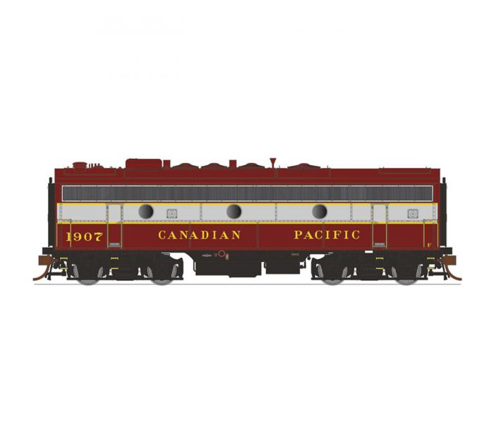 Rapido 223002 HO Scale, GMD F7B , DC, CPR/Block No.1915
