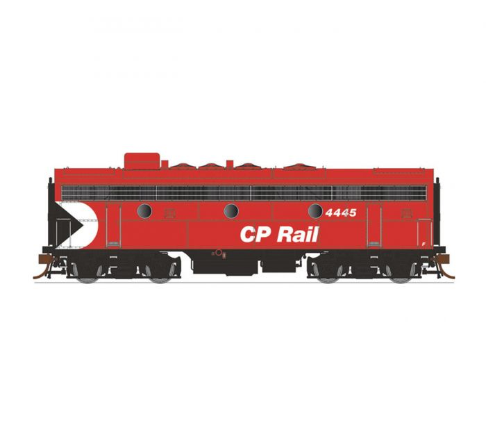 Rapido 223516 HO GMD F9B with ESU LokSound DCC, CPR/8 in Red Stripes No.4478