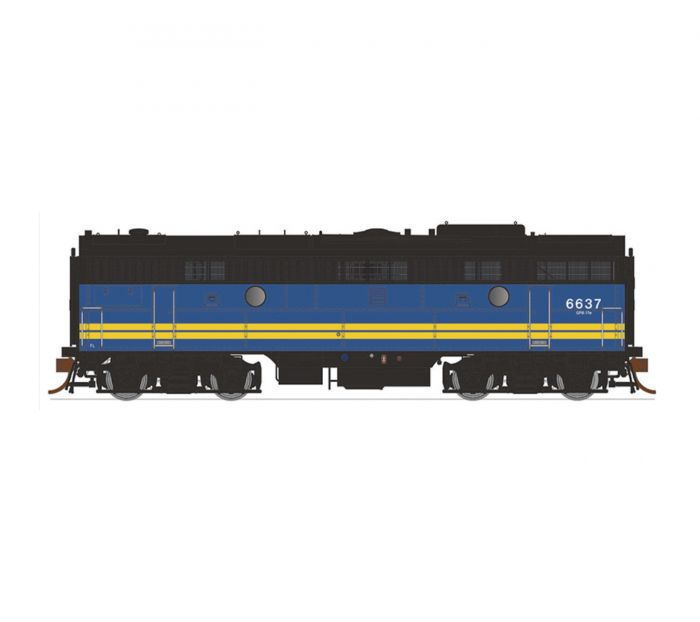 Rapido 223027 HO Scale, GMD F9B , DC, VIA No.6618