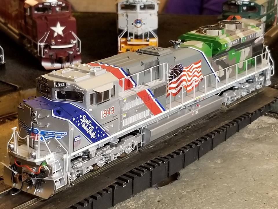 Athearn G19430 HO EMD SD70ACe,w/DCC Ready -  UP/Spirit of UP #1943