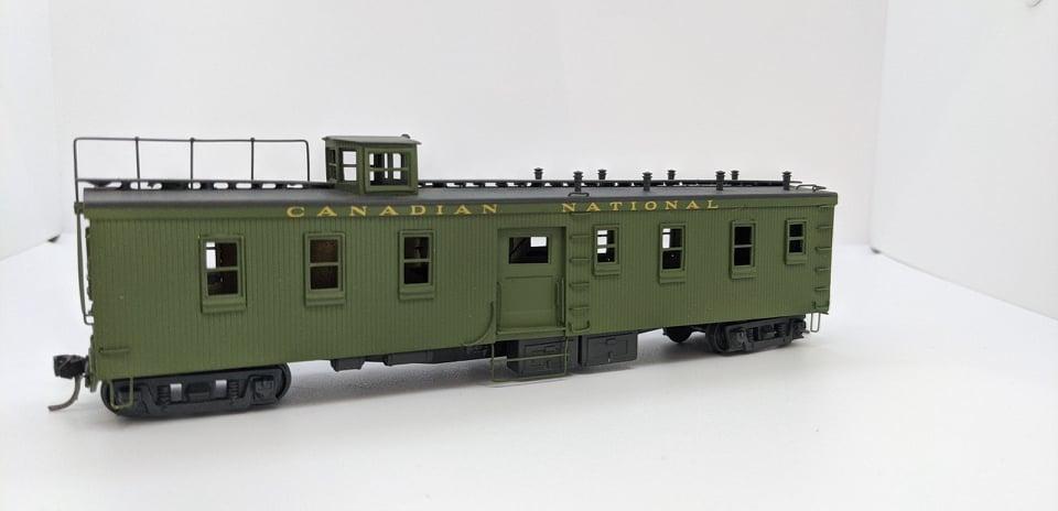 Hallmark Models Canadian National Dynamometer Car  - unnumbered  - Estate Brass Car