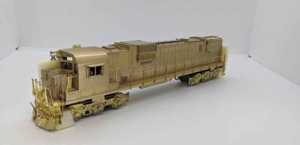 Van Hobbies - HO Brass CNR C-630 - DC/Nonsound - Unpainted  - Estate Brass Locomotive