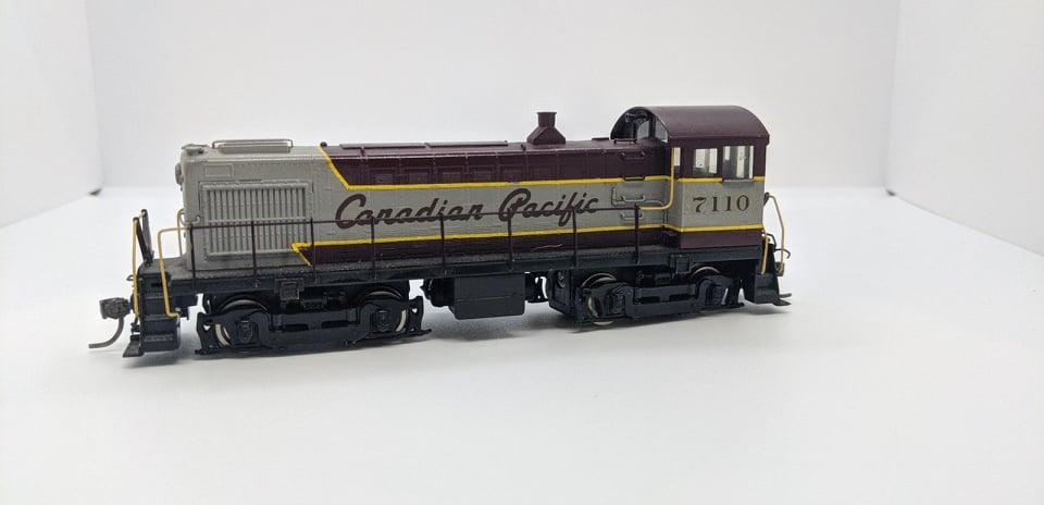 Van Hobbies - HO Brass Canadian Pacific  S-4- DC/Nonsound - painted #7110 - Estate Brass Locomotive
