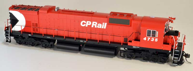 Bowser 24289 HO Executive Line Alco MLW M636 ESU LokSound & DCC Canadian Pacific CP Rail 4730 - CP Rail 5 Inch Stripe w/Water Tank