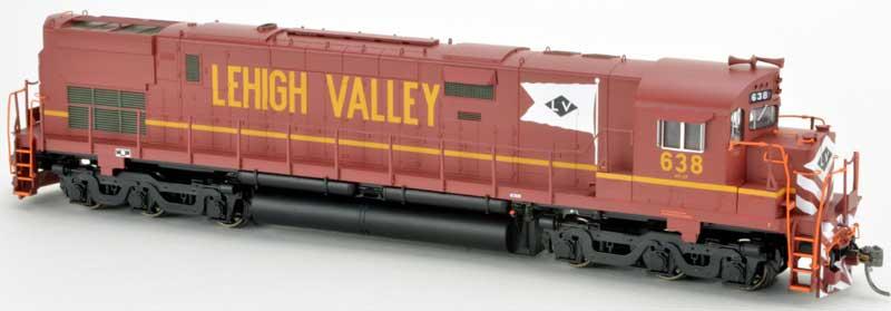 Bowser 24726 HO ALCo Century C-628 with ESU LokSound Lehigh Valley #635