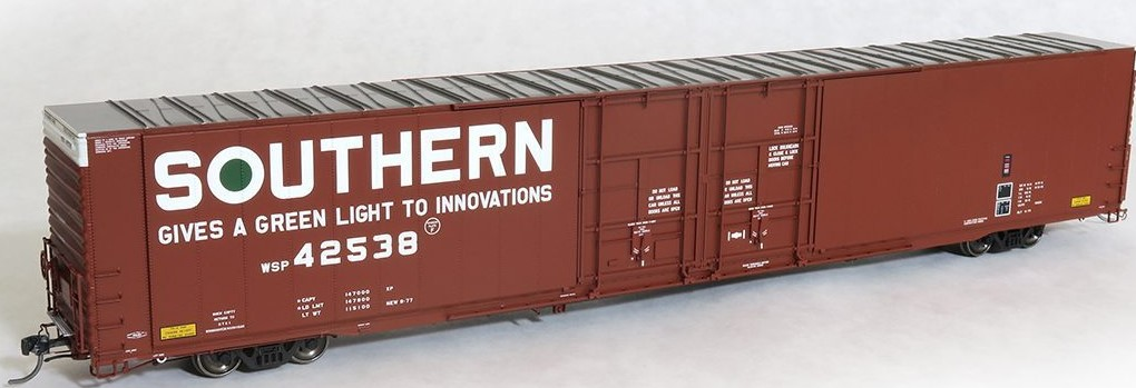 Tangent Scale Models 25014-08 - HO Greenville 86ft Double Plug Door Box Car - Southern #42539
