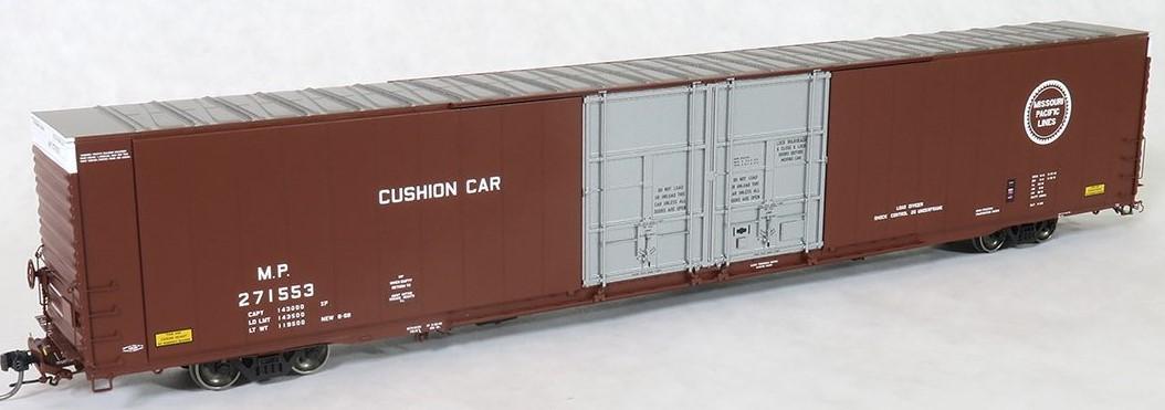 Tangent Scale Models 25031-03 - HO Greenville 86ft Double Plug Door Box Car - Missouri Pacific #271553