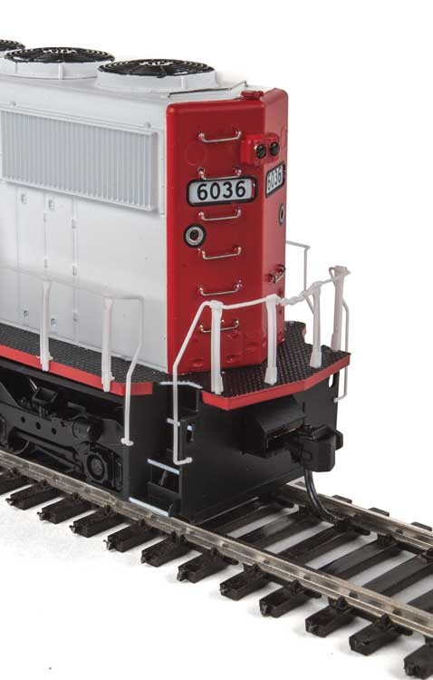 Walthers Mainline 256 - HO Diesel Detail Kit for EMD SD50 & SD60