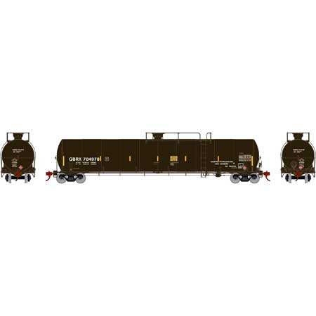 Athearn G25657 - HO RTR 33,900 Gallon LPG Tank/ Late - GBRX #704978
