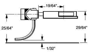 "2 pair Kadee #28 20-Series Coupler medium centerset shank 19//64/"""
