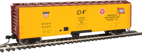 Walthers 2827 HO Mainline 50 Ft PC&F Insulated Boxcar ART #3300