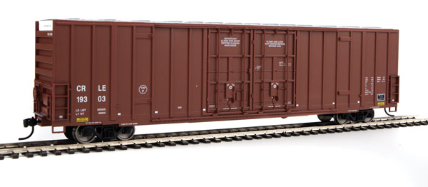 Walthers 2932 Mainline HO 60 Ft High Cube Plate F Boxcar Coe Rail, Inc. CRLE #19426