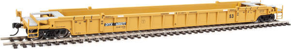Walthers Mainline 55077 - HO 53 ft Well Car - TTX #787041 (3pk)