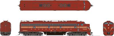 Rapido 28030 HO - EMD E8A (DC/Silent) Pennsylvania #5809
