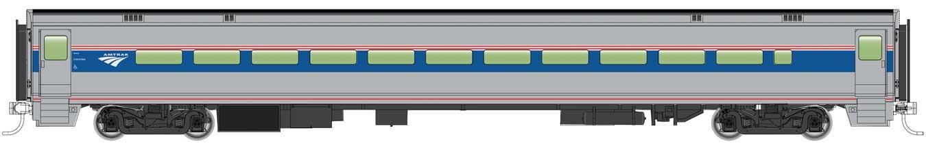 WalthersMainline 31002 HO Scale - RTR 85 ft Horizon Fleet Coach - Amtrak (Phase VI) (Travelmark)