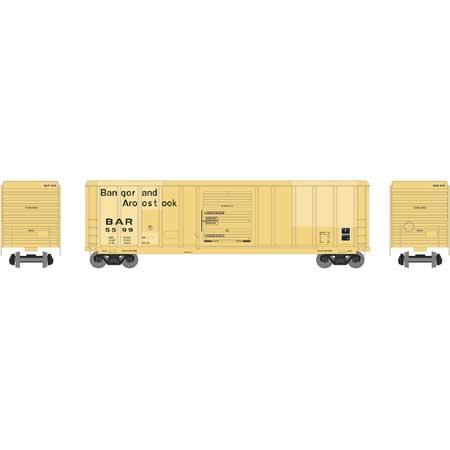 Athearn RTR 28240 - HO 50ft PS 5344 Box - Bangor & Aroostook #5567