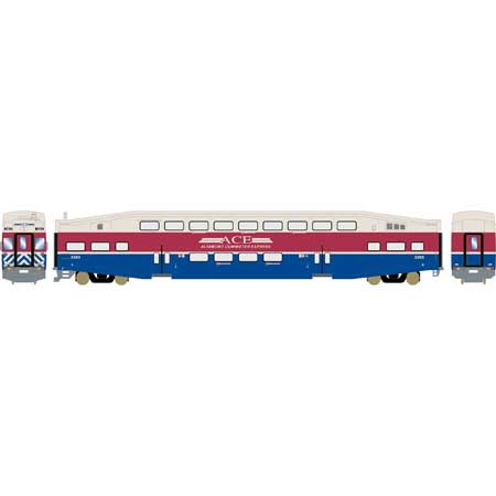 Athearn RTR 25971 HO Scale - Bombardier Cab - Altamont Commuter Express #3303