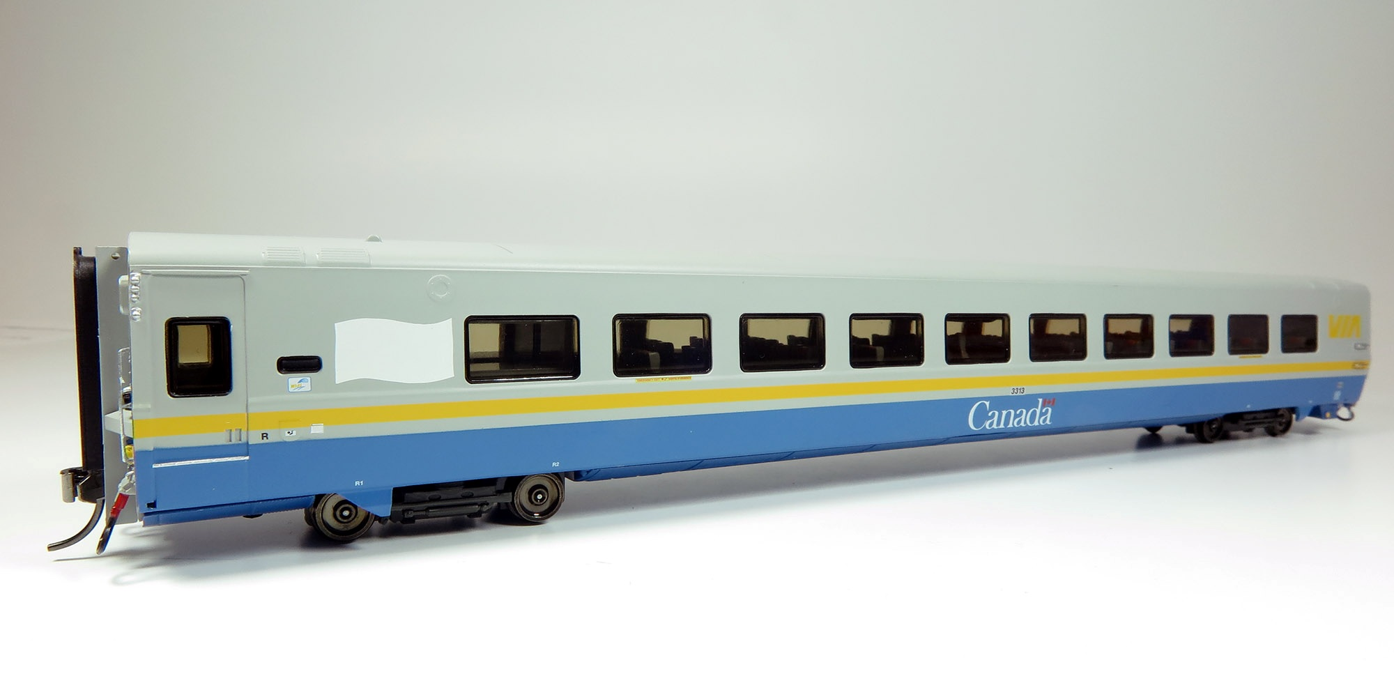 Rapido 108059/60 HO Scale - LRC Coach - Otter Valley Railroad Exclusive - 2 Pack, Set A #3313, 3336