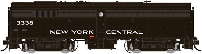 Rapido 22545 HO - DC/DCC/Sound - Alco FB-2 New York Central (Cigar Band) #3350