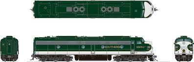 Rapido 28535 HO - EMD E8A (DC/DCC/Sound) Southern - Crescent Scheme #6901J