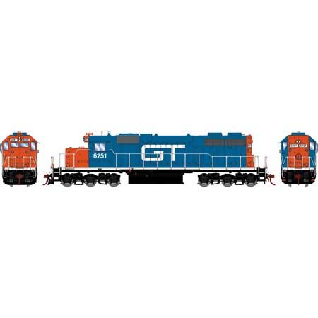 Athearn RTR 88936 - HO SD38 - DCC/Sound - GTW #6251