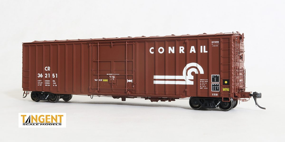 Tangent Scale Models HO 14024-03 - X58 Boxcar - 1978 Repaint - Conrail #362182